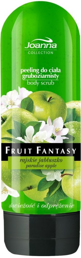 Joanna Fruit Fantasy Peeling gruboziarnisty Rajskie jabłuszko 200ml