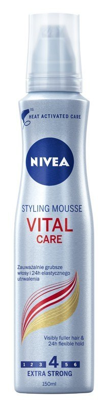 Nivea Hair Care Styling Pianka do włosów Vital Care 150ml