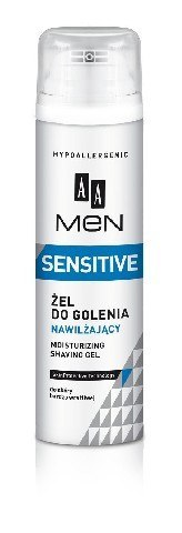 AA Men Sensitive Żel do golenia nawilżający 200ml