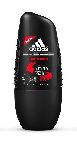 Adidas for Men Cool & Dry Dezodorant roll-on Dry Power