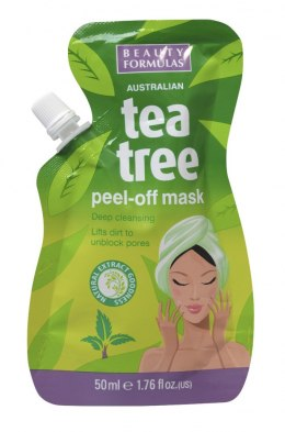 Beauty Formulas Tea Tree Maseczka peel-off 50ml