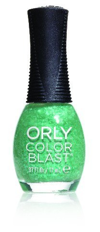 ORLY Color Blast Green Flakie Matte Top 11