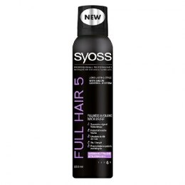Syoss Full Hair 5D Pianka do włosów 250 ml