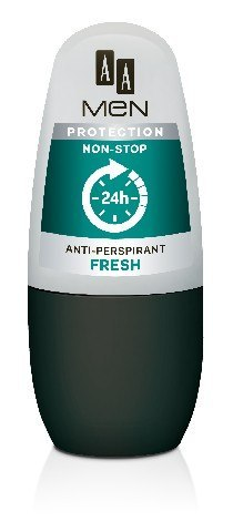 AA Anti-Perspirant Men Protection Non-Stop 24h Dezodorant roll-on Fresh 50ml