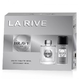 La Rive La Rive for Men Brave Man Zestaw/edt100ml+deo150ml/