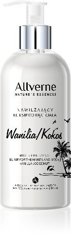 Allvernum Nature's Essences Eliksir do rąk i ciała Wanilia & Kokos 300ml