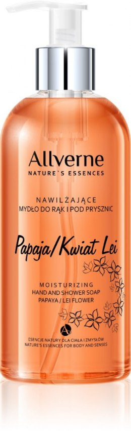 Allvernum Nature's Essences Mydło do rąk i pod prysznic Papaja-Kwiat Lei 300ml