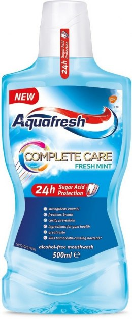 Aquafresh Płyn do płukania ust Complete Care Fresh Mint 500ml