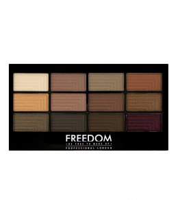 FREEDOM PRO 12 SECRET ROSE - Paleta 12 cieni do powiek