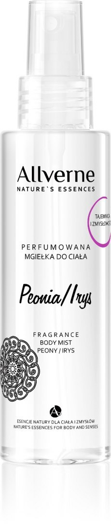 Allvernum Nature's Essences Mgiełka do ciała perfumowana Peonia & Irys 125ml