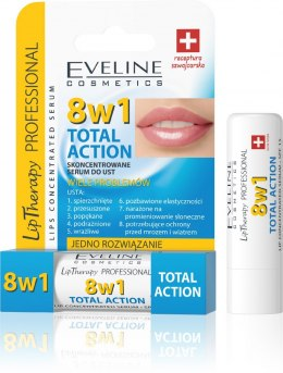 Eveline Lip Therapy Skoncentrowane serum do ust Total Action 8w1 1szt