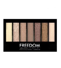 FREEDOM PRO SHADE & BRIGHTEN Paleta do makijażu Stunning Rose Kit 1szt