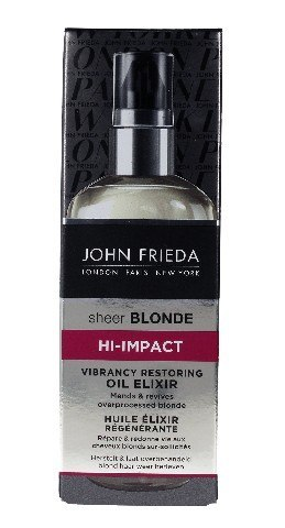 John Frieda Sheer Blonde Eliksir-olejek do włosów blond Hi-Impact 100ml new