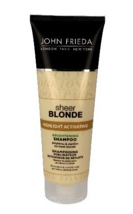 John Frieda Sheer Blonde Szampon rozświetlający do włosów blond Highlight Activating 250ml new