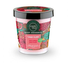 Organic Shop Body Desserts Pianka do kąpieli Antystresowa Candy Floss 450 ml