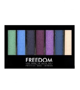 FREEDOM PRO SHADE&BRIGHTEN Cienie 6 do powiek Play Kit 1szt