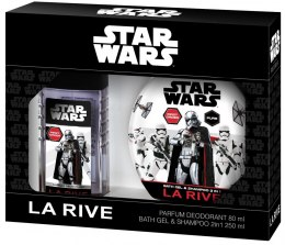 La Rive Disney Star Wars First Order Zestaw /deo perf.80ml+żel 2w1 250ml/