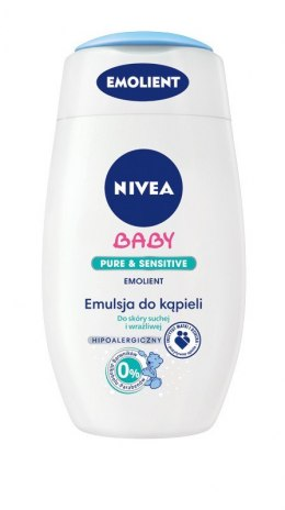 Nivea Baby Emulsja do kapieli Pure&Sensitive 200ml Emolient