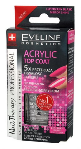 Eveline Nail Therapy Lakier - Top Coat Acrylic 12ml