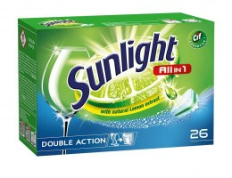 Sunlight Tabletki do zmywarek All in 1 1 op.-26szt