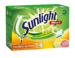 Sunlight Tabletki do zmywarek Citrus Fresh 1 op.-26szt