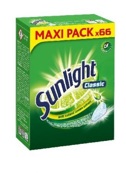 Sunlight Tabletki do zmywarek Classic 1 op.-66szt