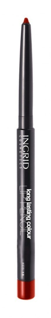 INGRID Kredka automatyczna do ust Long Lasting Colour nr 10 Red 1.1g