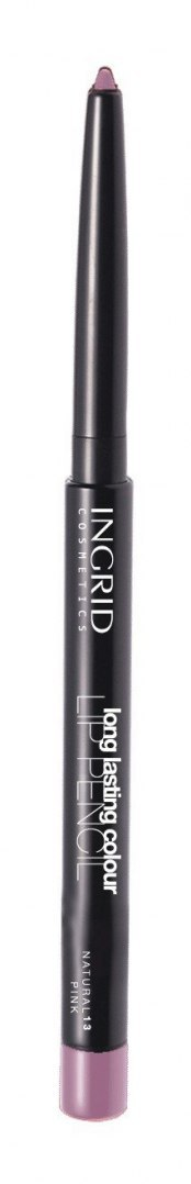 INGRID Kredka automatyczna do ust Long Lasting Colour nr 13 Natural Pink 1.1g