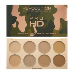 Makeup Revolution Pro HD Camouflage Palette Zestaw do konturowania twarzy Light Medium 10g