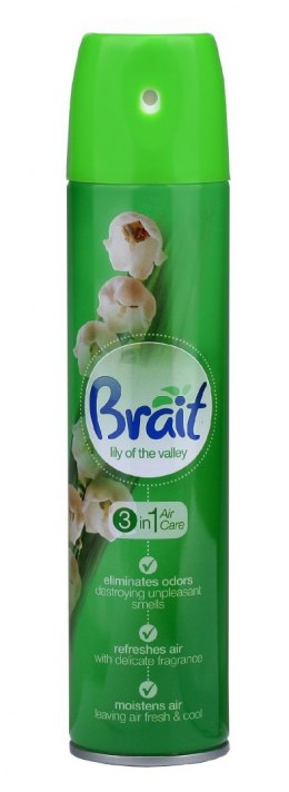 Brait Air Care 3in1 Odświeżacz klasyczny Lily of the Valley 340ml