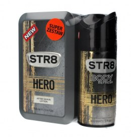 STR 8 Hero Płyn po goleniu 100ml + dezodorant spray 150ml