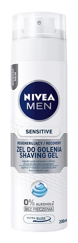 NIVEA MEN Żel do golenia SENSITIVE RECOVERY&