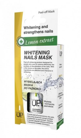 Nails Up.Lemon Extract Maska wybielająca do paznokci 7ml