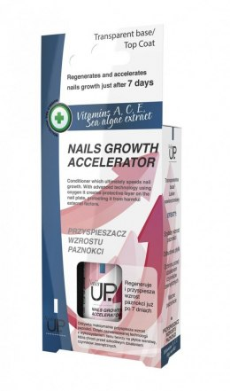 Nails Up.Vitamins A,C,E Sea Algae Extract Przyspieszacz wzrostu do paznokci 7ml