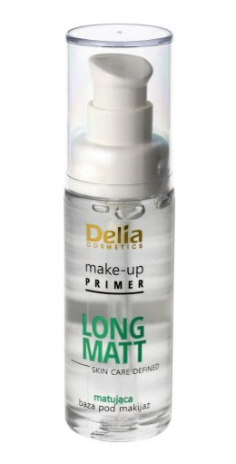 Delia Skin Care Defined Baza pod makijaż Long Matt matująca 30ml
