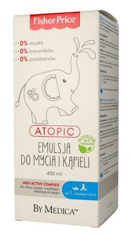 Fisher-Price Atopic Emulsja do mycia i kąpieli 400ml