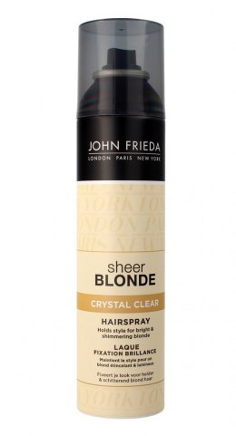 John Frieda Sheer Blonde Lakier do włosów blond Crystal Clear 250 ml