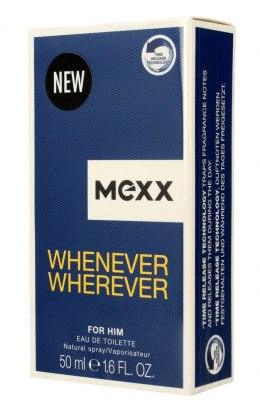 Mexx Whenever Wherever for Him Woda toaletowa 50ml