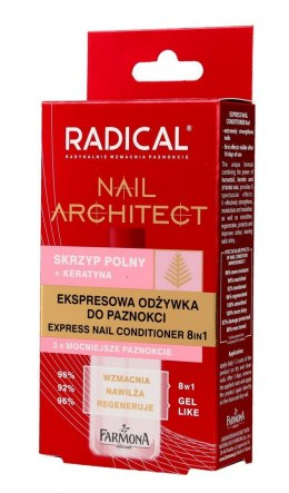 Farmona Radical Nail Architect Ekspresowa Odżywka do paznokci 8in1 12ml