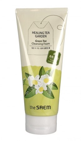 The SAEM Healing Tea Garden Pianka do mycia twarzy Green Tea 150ml