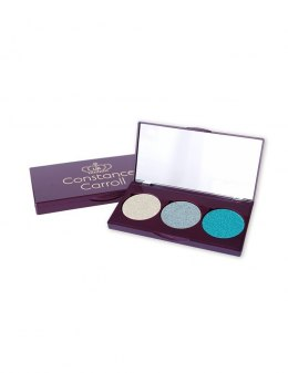 Constance Carroll Cień do powiek Metallix Palette nr 02 Moonlight 1szt