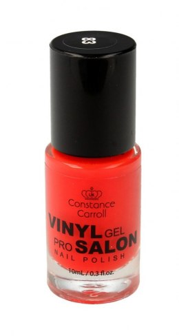 Constance Carroll Lakier do paznokci z winylem nr 83 Red Orange 10ml