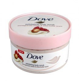 Dove Exfoliating Body Scrub Peeling do ciała Granat & Masło Shea 225ml