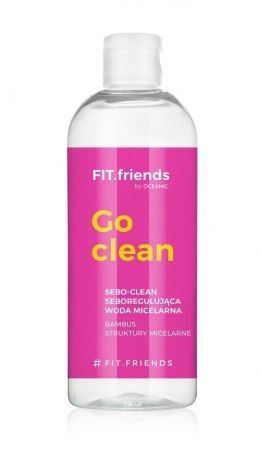 FIT.friends Go Clean Seboregulująca Woda micelarna Sebo-Clean 400ml