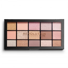 Makeup Revolution Paleta cieni do powiek Reloaded Fundamental, 1 szt.