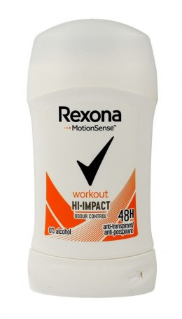 Rexona Motion Sense Woman Dezodorant w sztyfcie Workout Hi-Impact 40ml