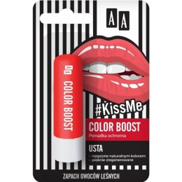 AA #Kiss Me Pomadka ochronna Color Boost 3.8g