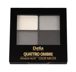 Delia Cosmetics Color Master Cienie do powiek Quattro Ombre nr 403 Ideal Smoky Eye 1szt