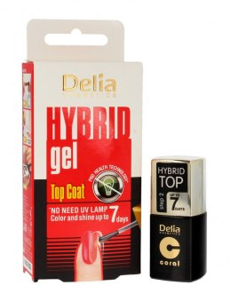 Delia Cosmetics Hybrid Gel Top Coat 7 days 11ml
