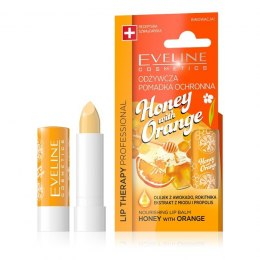 Eveline Lip Therapy Professional Pomadka odżywcza do ust Honey with Orange 1szt